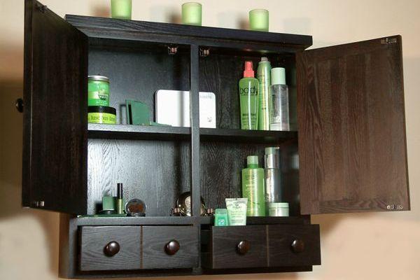 21+ Bathroom wall cabinets black custom