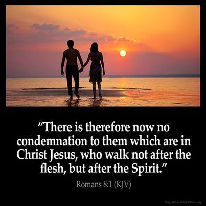 Romans 8:1 No condemnation in Christ Jesus
