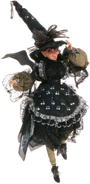 Mark Roberts Crazy Old Witch Limited Edition Collectible Witch Fairy Mark Roberts Witch