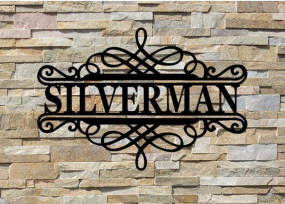 Personalized Name Metal Sign Custom