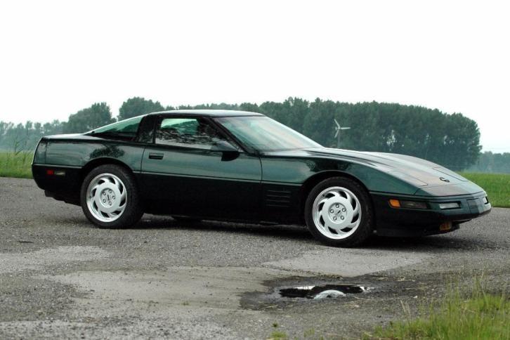 Chevrolet Corvette C4 5 7 Aut U9 1993 Autos Coches