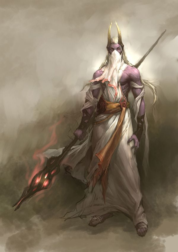 Elven High Priest Or Archmage In 2019 Fantasy Art