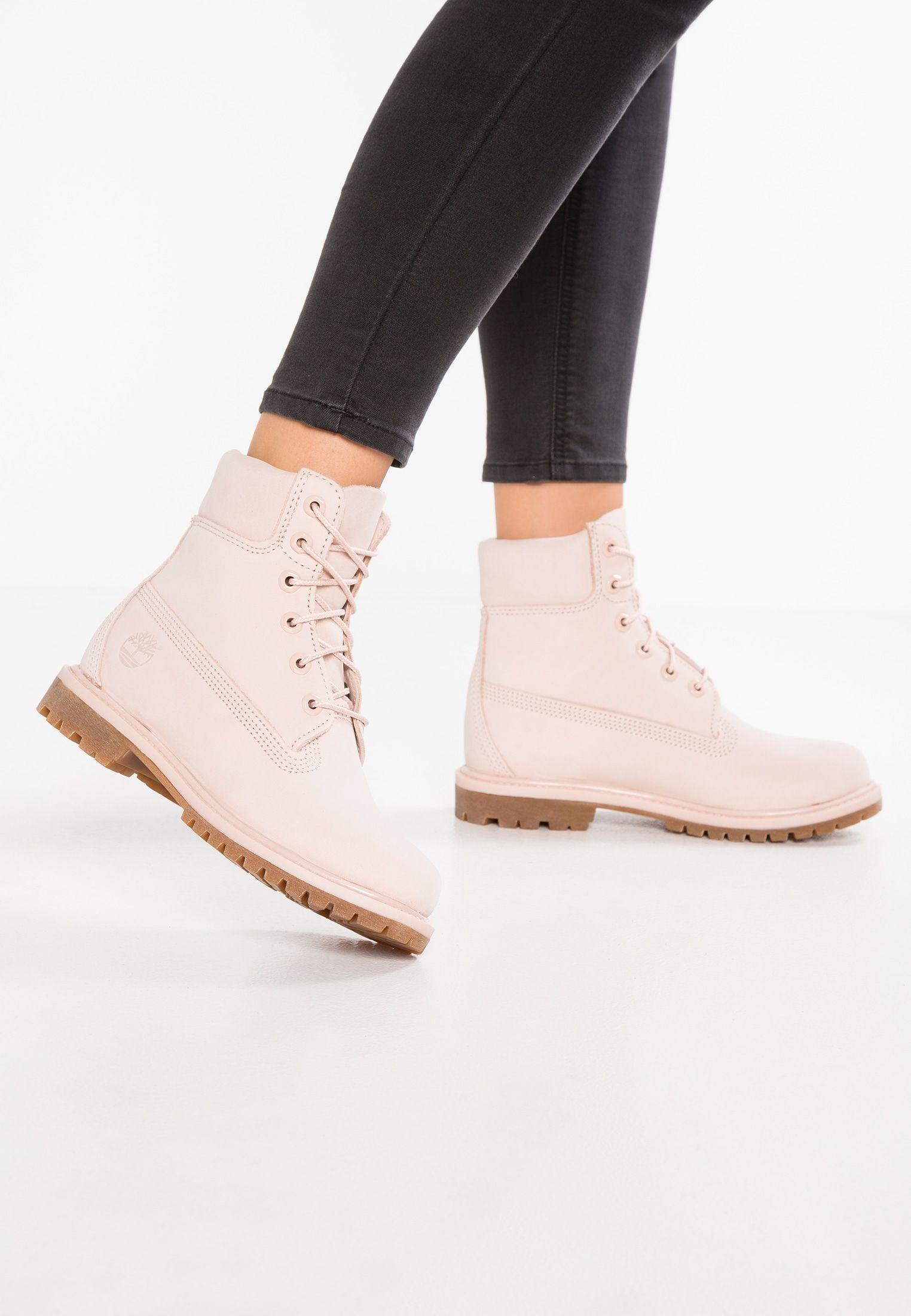 libro de texto Pensar en el futuro basura  Timberland 6INCH PREMIUM - Lace-up boots - rose - Zalando.co.uk | Timberland  boots, Boots, Lace up ankle boots