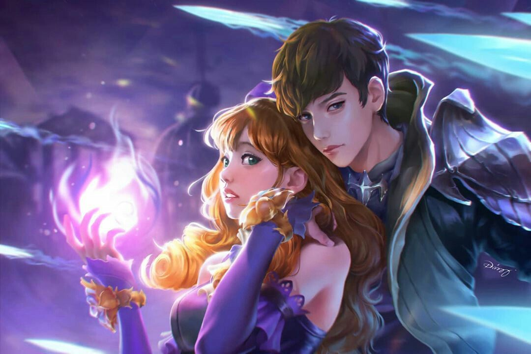 Guinevere and gusion ~ mlbb   mobile legends in 2020 ...
