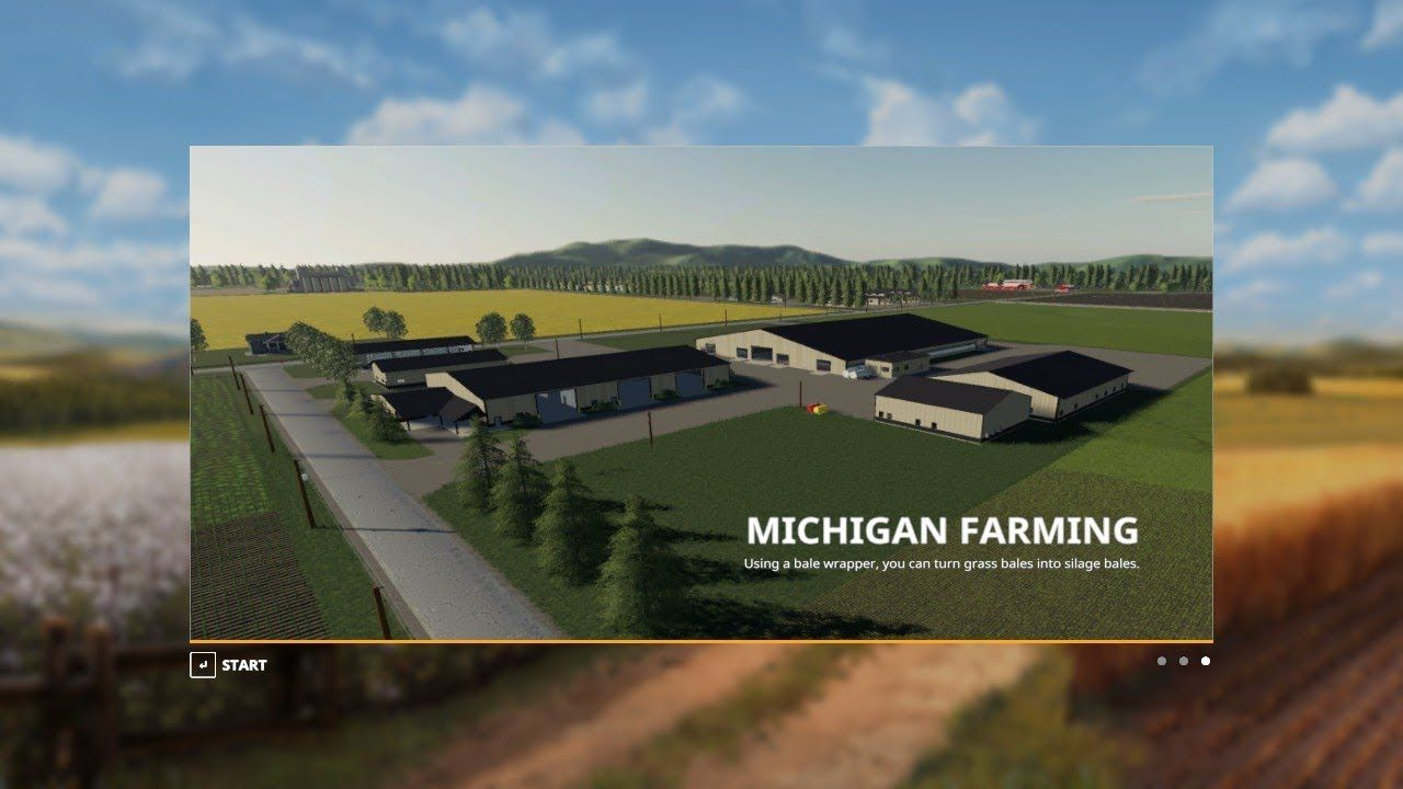 Merry Christmas Farming Simulator 19 Mp On Michigan Map By Taylor Farms Farming Simulator Farm Simulation