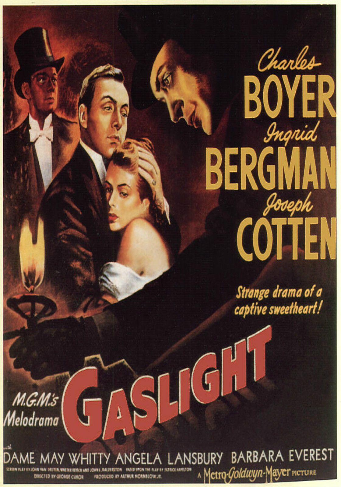 1944 Movie Poster Gaslight