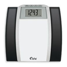 Conair Weight Watchers Glass Body Analysis Scale Bed Bath