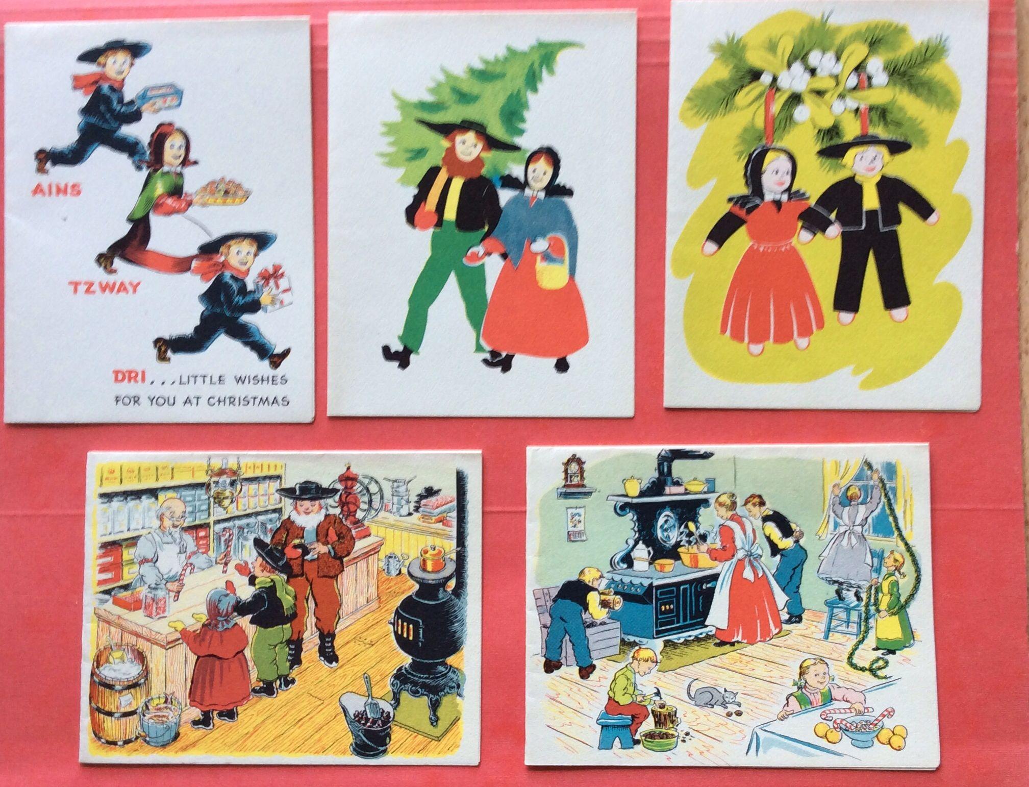 Vintage pa dutch christmas cards christmas memories pinterest vintage pa dutch christmas cards kristyandbryce Choice Image