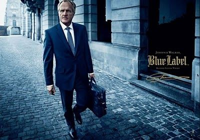 London to Zurich to shoot Greg Norman for Johnnie Walker's - Blue Label.