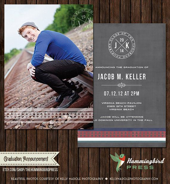 Senior Graduation Card Template Graduation Announcement Open House