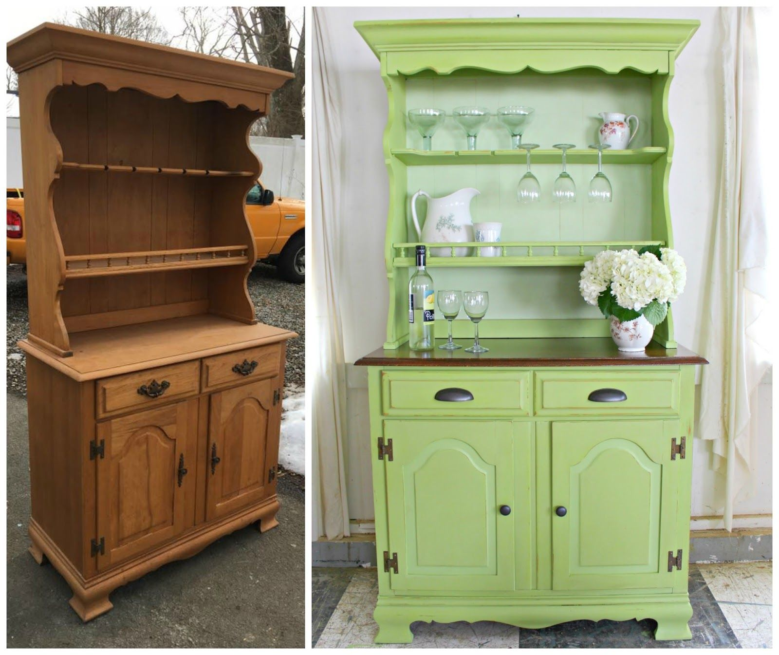 furniture cupboard style how diy spray thrifty paint refinishing to
