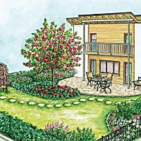 Pflegeleichter Garten Anlegen kleine gärten harmonisch gestalten   garten   pinterest