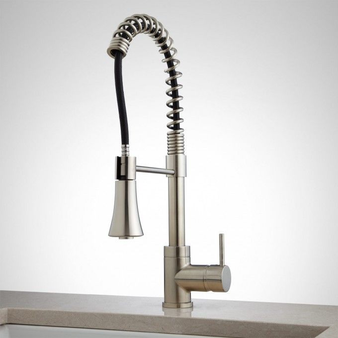 steyn kitchen faucet with spring spout pinterest kitchen faucets rh pinterest co uk Home Depot Kitchen Faucets Spring Kitchen Faucet Sprayer