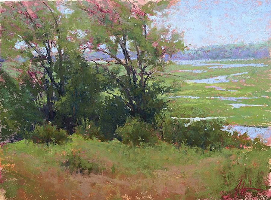 Image Result For Famous Pastel Artists Names Pastel Landscape Landscape Paintings Landscape Art
