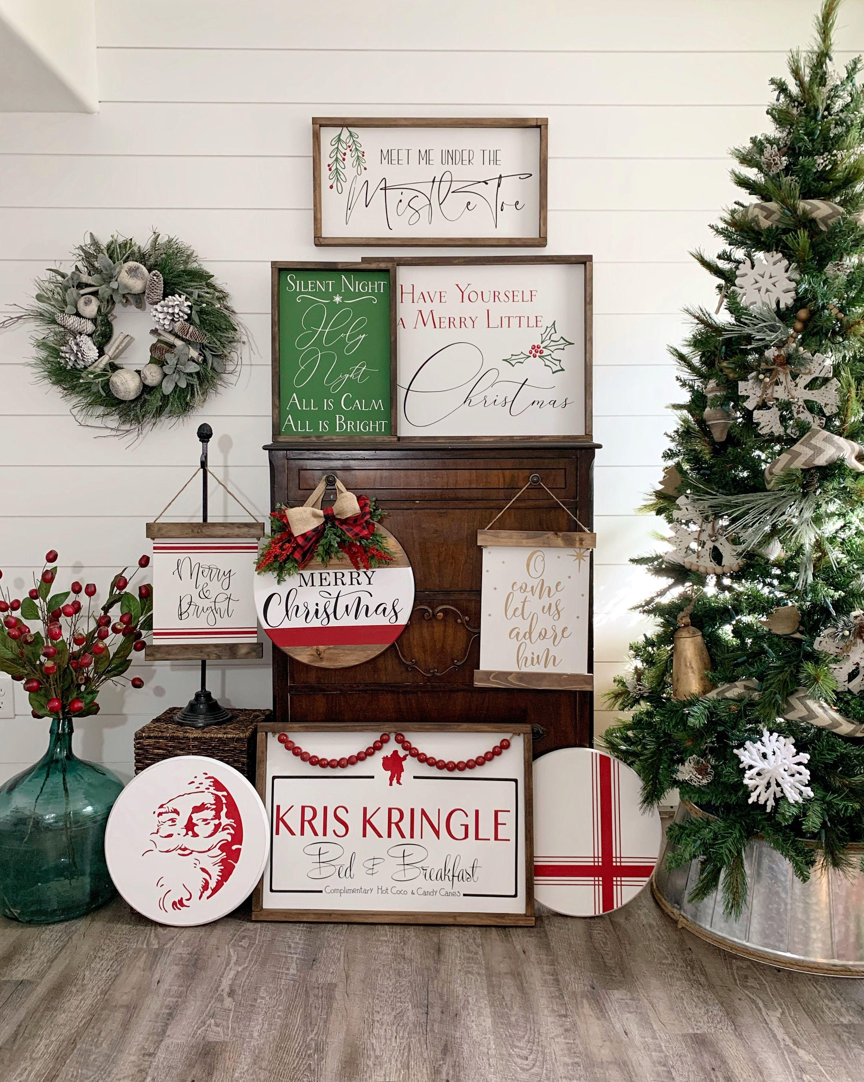 Christmas Collection Christmas Signs Christmas Wood Signs Holiday Decor Farmhouse Christmas Signs Christmas Signs Wood Merry Christmas Sign Christmas Signs