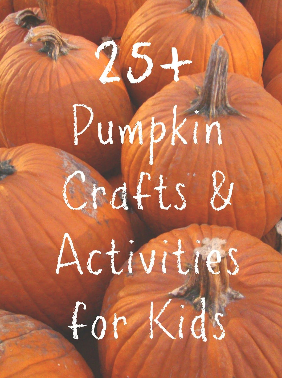 25 Pumpkin Themed Activities Kid S Co Op