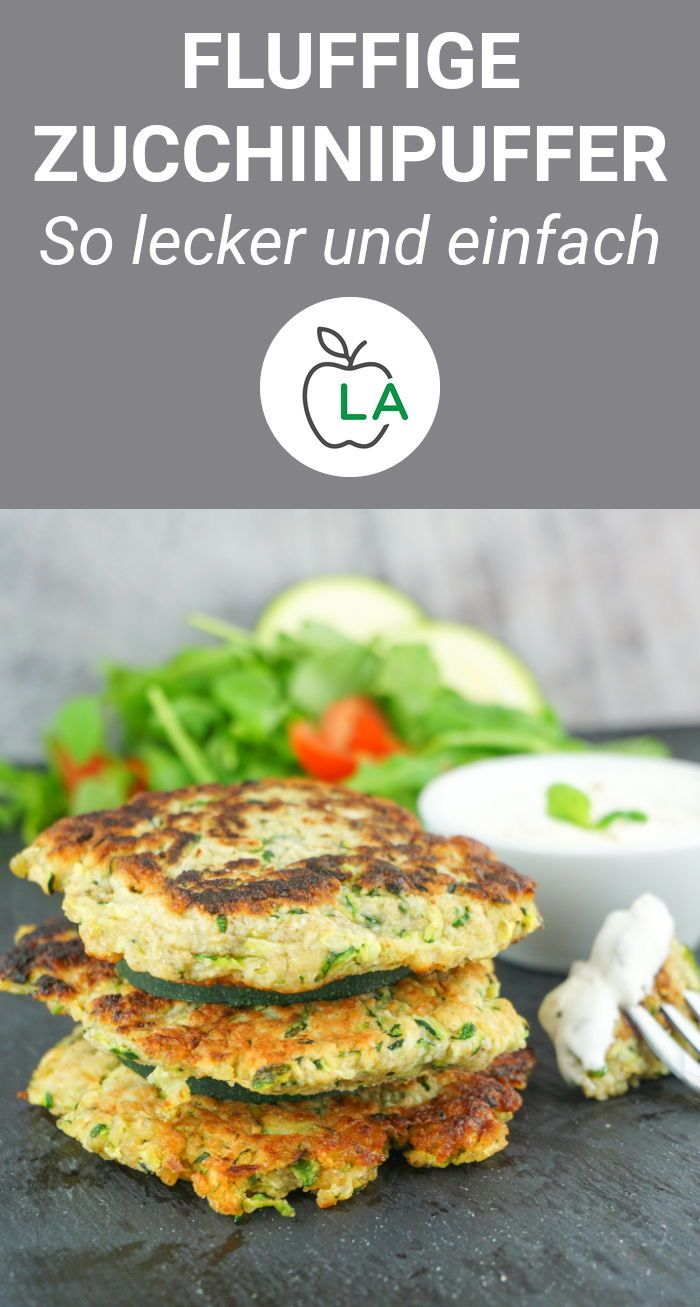 Photo of Zucchini Buffer Recipe – Low Calorie, Low Fat and Healthy