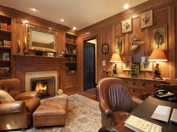The perfect cozy library. 17 Eastwood Road Asheville 28803 - Beverly-Hanks & Associates REALTORS®