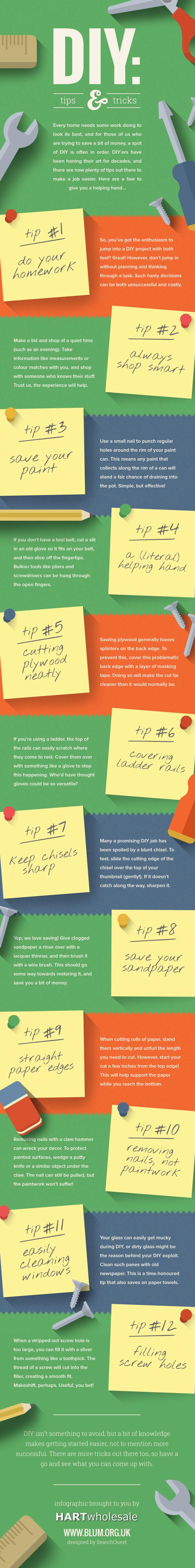DIY: Tips & Tricks [Infographic]