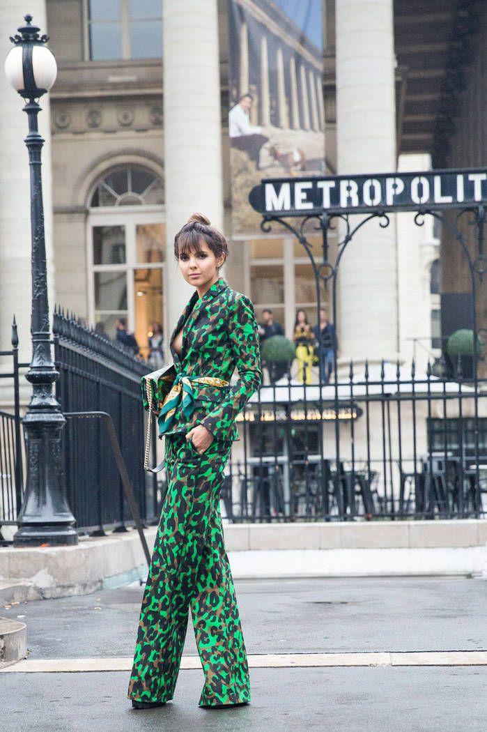 Paris HC str RF16 0608 - Semaine de la couture : 50 looks repérés à la sortie des défilés  - Elle