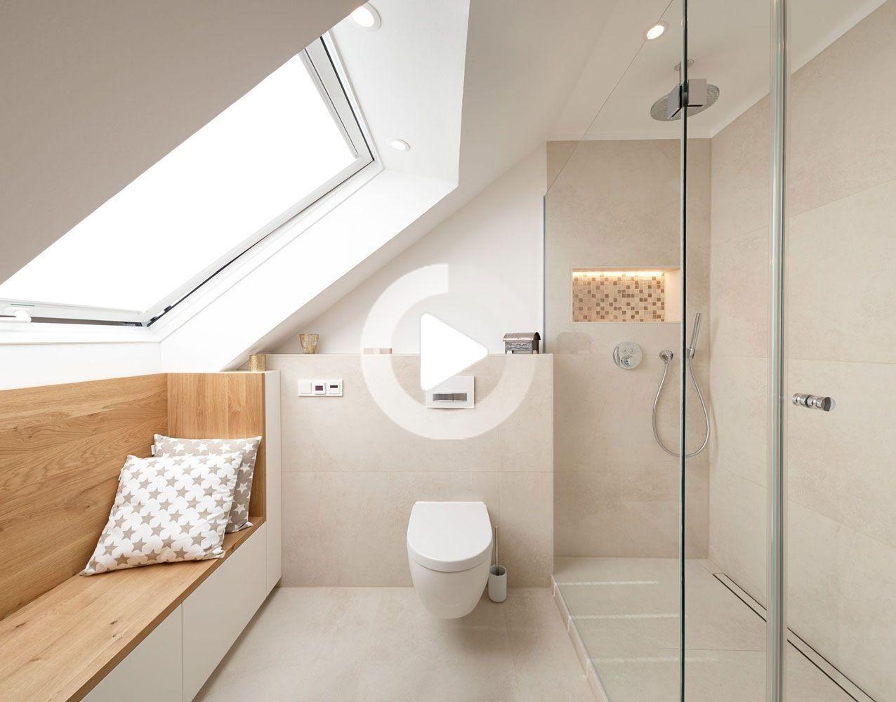 Koelnmoebel Mobel Bad Badezimmermobel In Der Dachschrage In 2020 Badezimmer Dachschrage Bad Einrichten Badezimmer Dachgeschoss