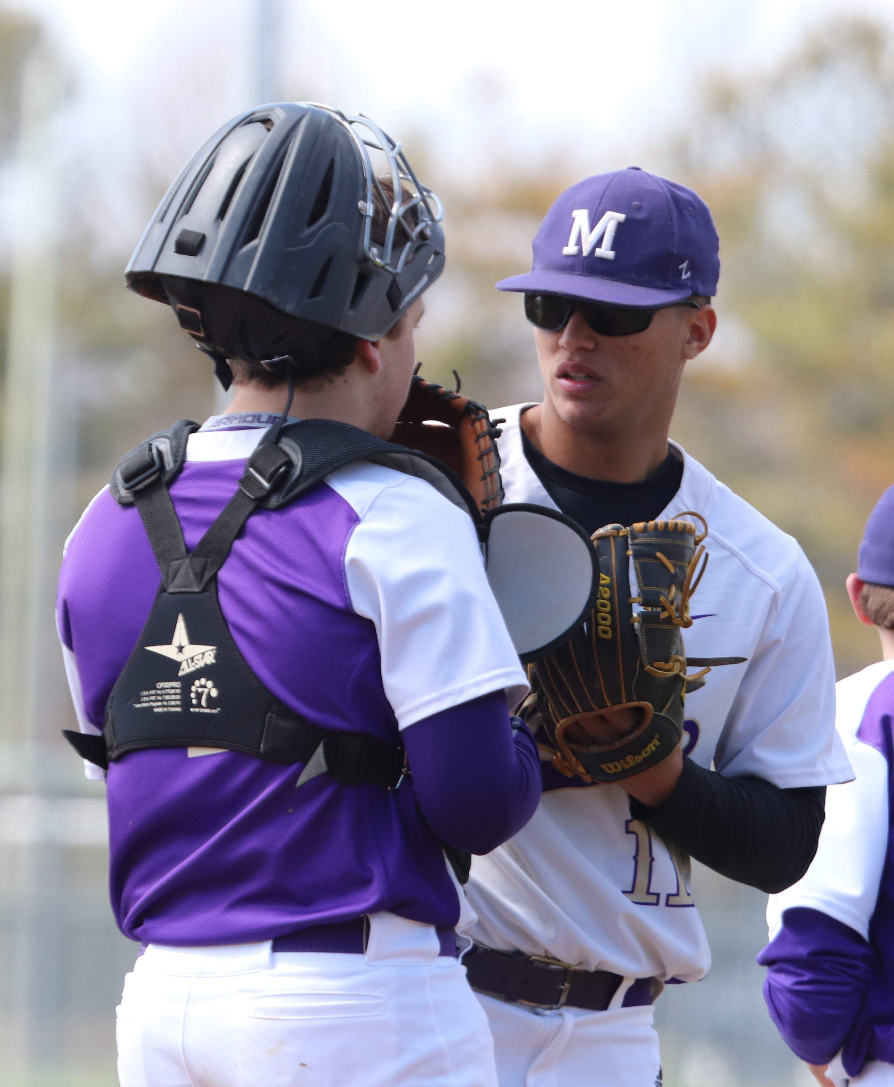 Jack Fitzgerald 2019 Baseball Catcher Monroe Township Nj Tri State Arsenal With Nick Payero Seton Hall Pitcher Jack Fitzgerald Baseball Catcher Fitzgerald