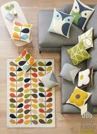 Orla Kiely Multi Stem Wool Rug From The Next Uk Online
