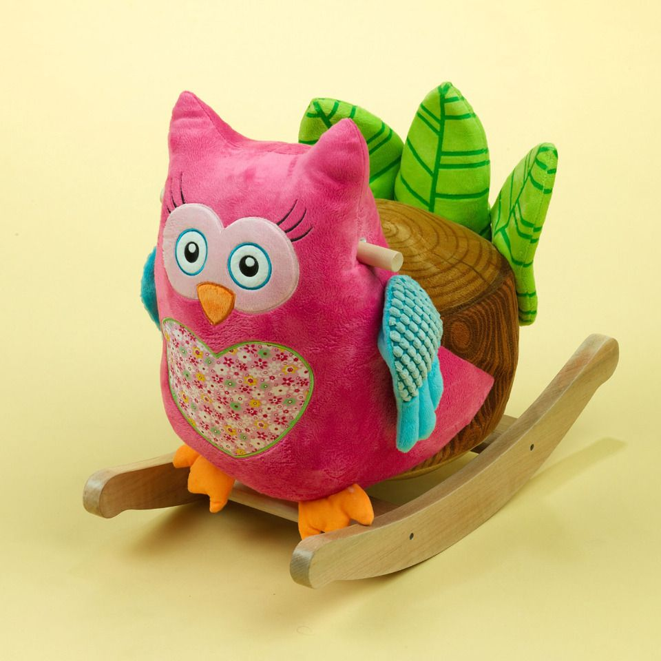 Rockabye Owlivia Owl Rocker - ridiculously cute!