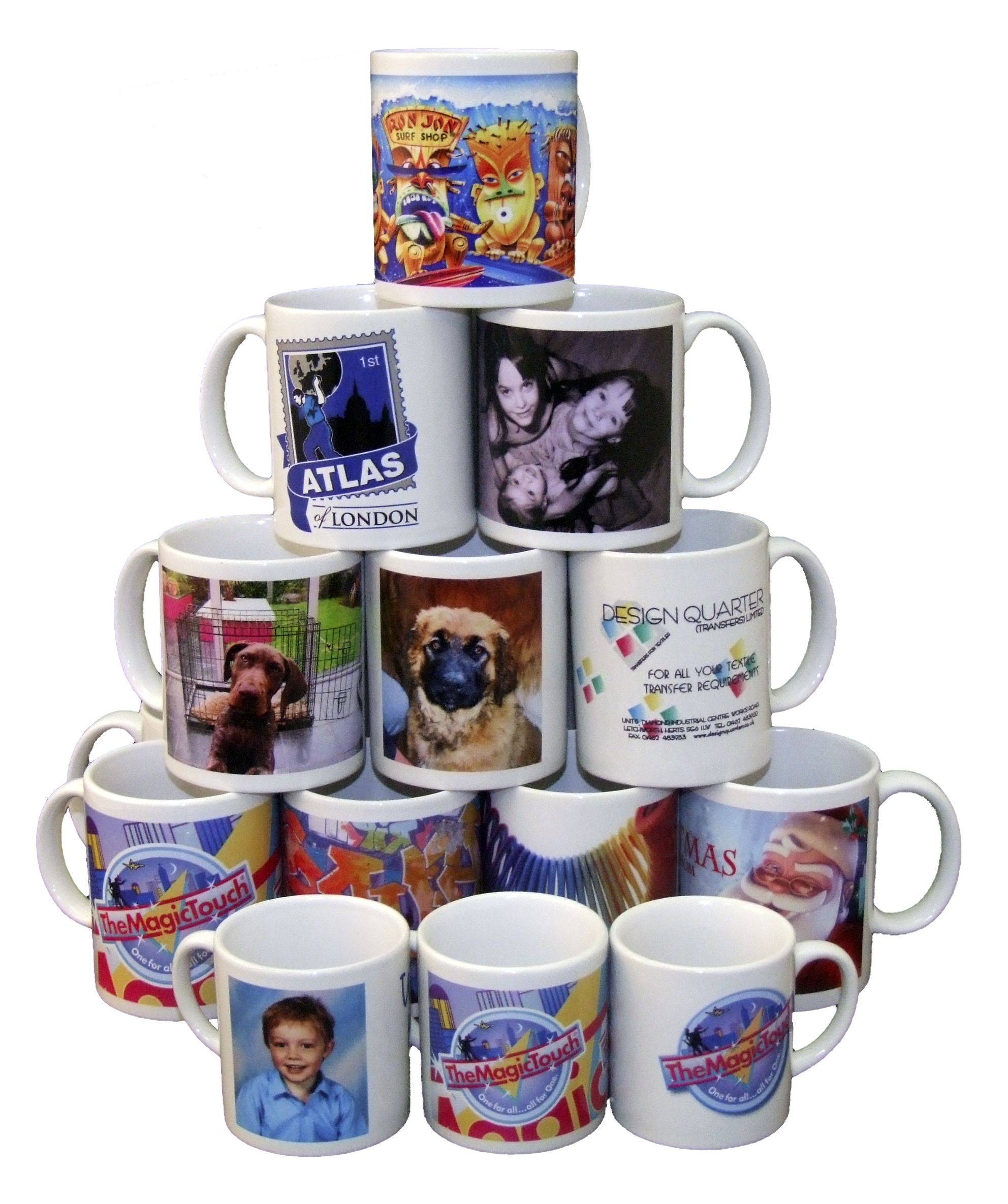 All Types of Personalised Coffee Mugs... Personalized