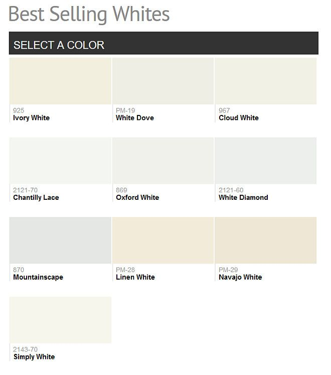 2016 Paint Color Ideas For Your Home Benjamin Moore Colors