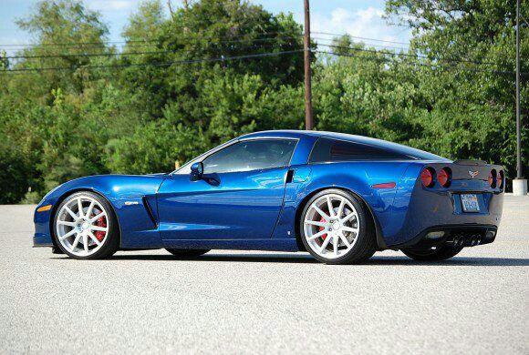 Blue Z06..