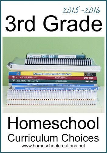 3rd Grade Homeschool Curriculum Choices Homeschool