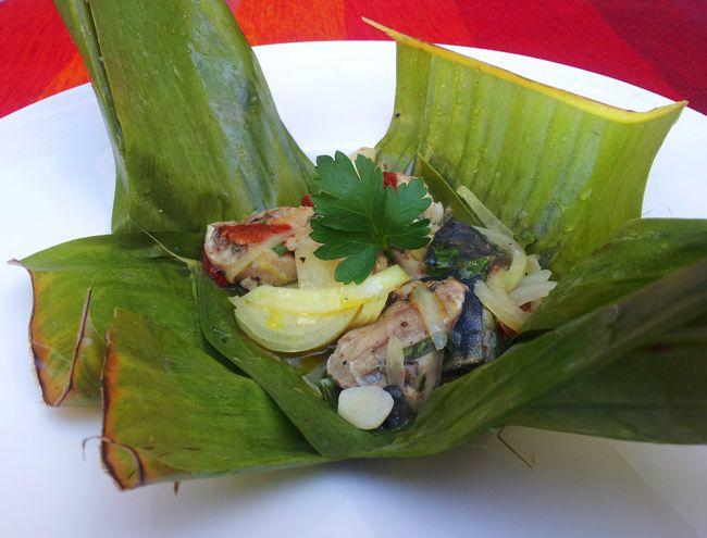 Maboke au poisson congo republic of the pinterest congo - Cuisine congolaise rdc ...