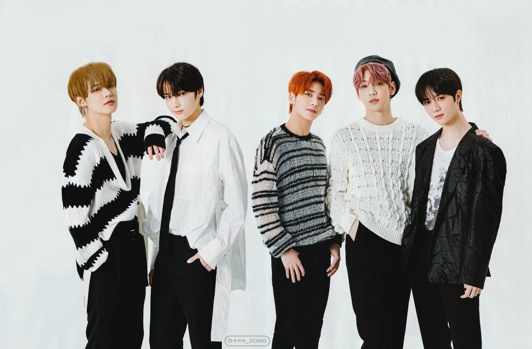Pin By Mochigurl On Txt Txt South Korean Boy Band Boy Bands