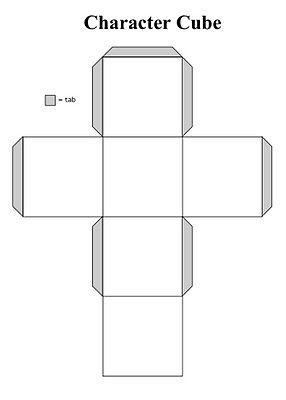 Character Cubes Vorlagen