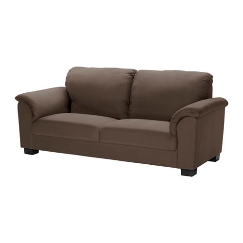 sofa 3 pers ikea TIDAFORS 3 pers. sofa   Dansbo mellembrun   IKEA | mangler  sofa 3 pers ikea