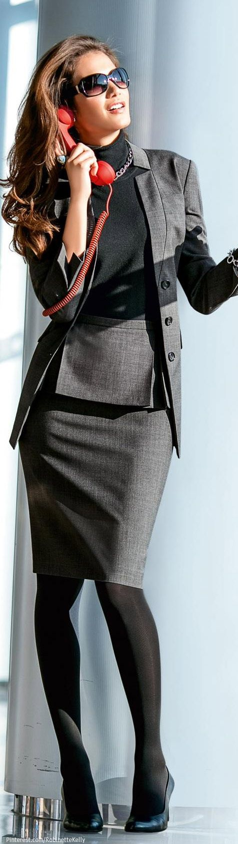 Madeleine office suit business outfits mode madeleine mode und rock - Damenmode sportlich elegant ...