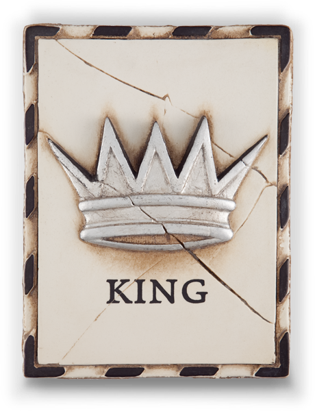 King (Silver)  1998 COLLECTION - T22  All the world is yours to command.