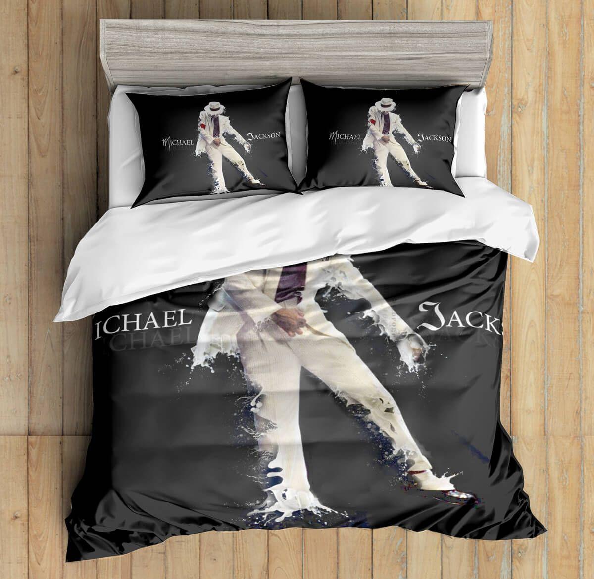 3d Custom Michael Jackson Bedding Set Duvet Cover Set Bedroom Set