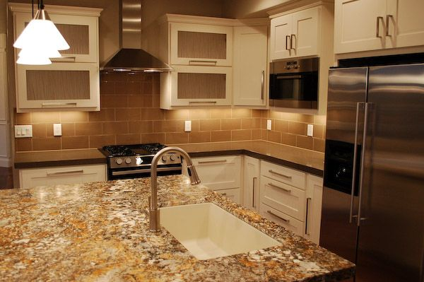 Love this very sleek google image result for http www for Tan kitchen ideas