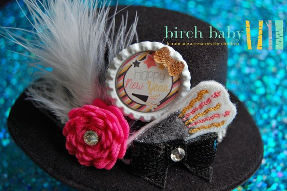 Cute New Years Party Hat! Perfect accessory for that little black dress!