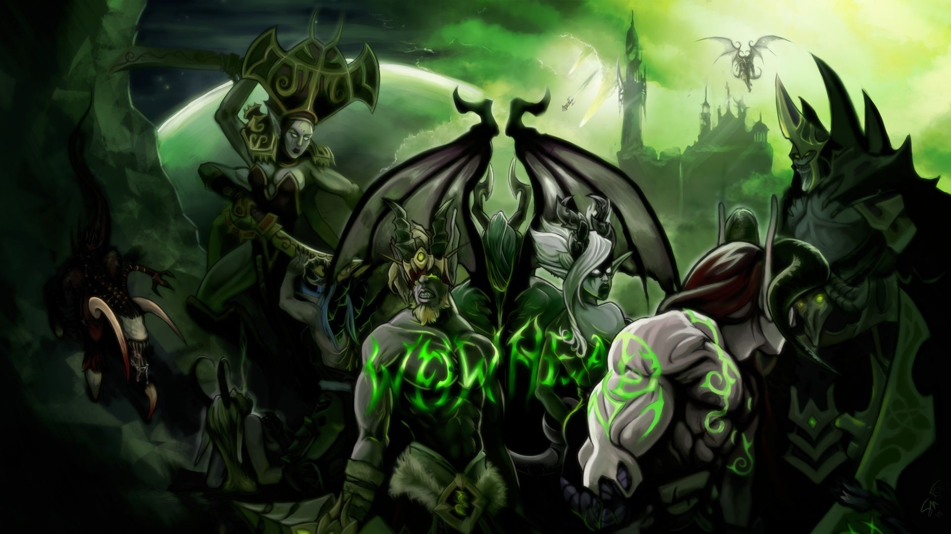 Wow Legion Wallpaper Images HD Wallpapers Buzz 2560×1440