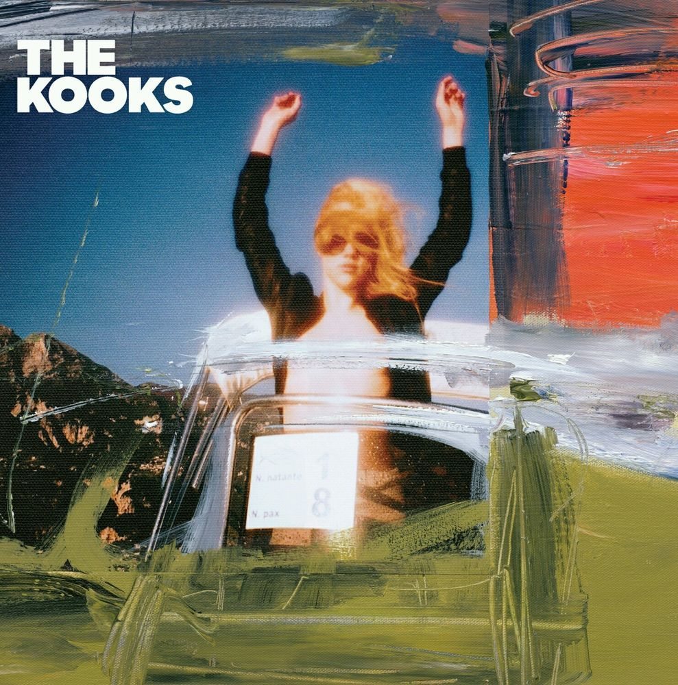 "The Kooks Junk of the Heart 2011 Album Cover Music Poster 20×20"" 24×24"" 32×32"""