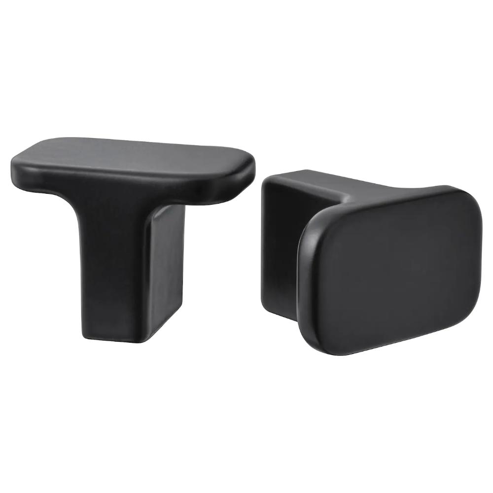 NANNARP Leg black IKEA | Tv bench, Ikea, Chrome plating