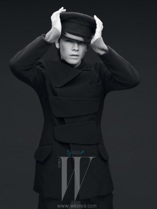 Super Junior Dong Hae - W Magazine December Issue '10