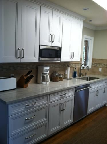 Satin Nickel Amerock Westerly 5. Kitchen HardwareReal ...
