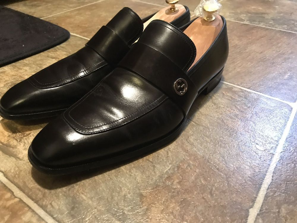 gucci shoes men 10 used. 100% Authentic