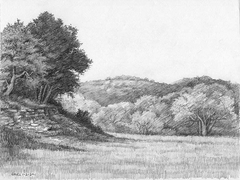 Landscape Pencil Drawing Landscape Pencil Drawings Landscape Drawings Drawings
