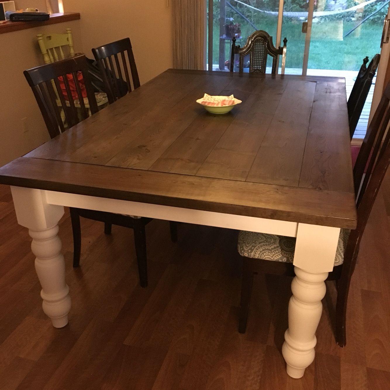 Finished My Farm Table. Osborne Wood Husky Dining Table