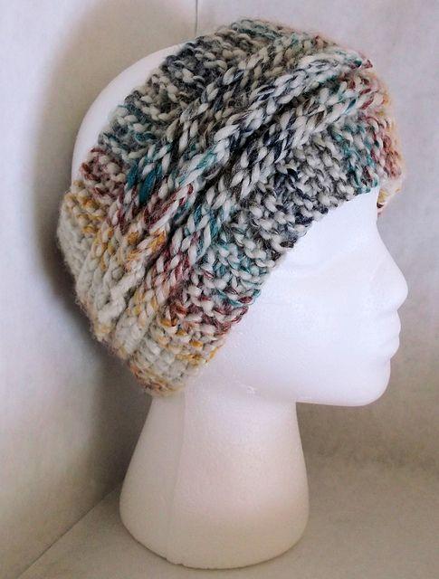 Garter Slip Chain Ear Warmer Pattern By Scarlett Royal Knitting